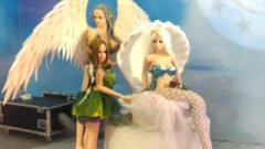 MGSEX Mermaid Sex Doll, Steamy Figure, Tiny Chest