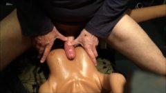 Silicone Sex Doll Big Sperm Load On Breasts! Realistic Mia's 37th Movie! :)