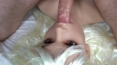 Sex Doll Tit Ruined And Blow Job